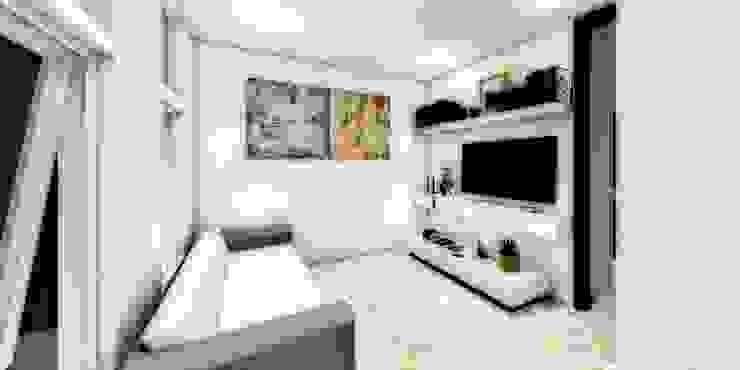 ESTANCIA Salones minimalistas de WIGO SC Minimalista