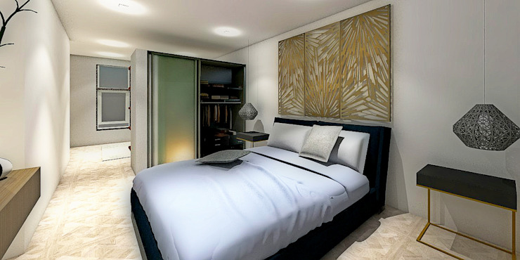 RECAMARA Dormitorios minimalistas de WIGO SC Minimalista Cerámico