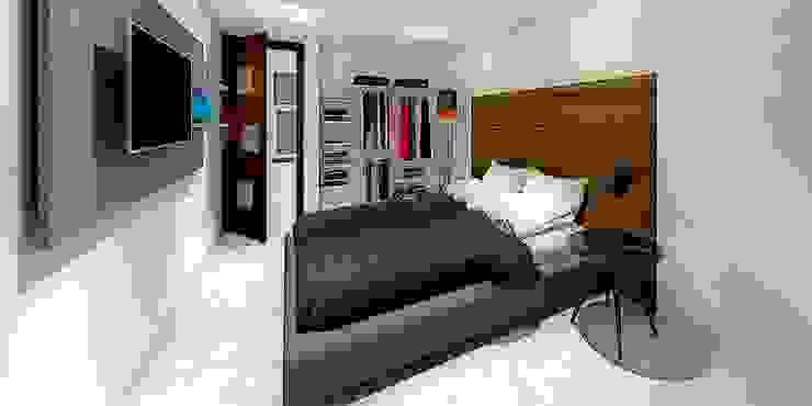 HABITACIÓN PRINCIPAL Dormitorios de estilo minimalista de WIGO SC Minimalista Cerámico