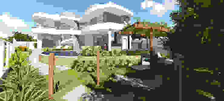 Projeto Arquitetura Residencial SD: Casas  por arquiteto bignotto,Moderno