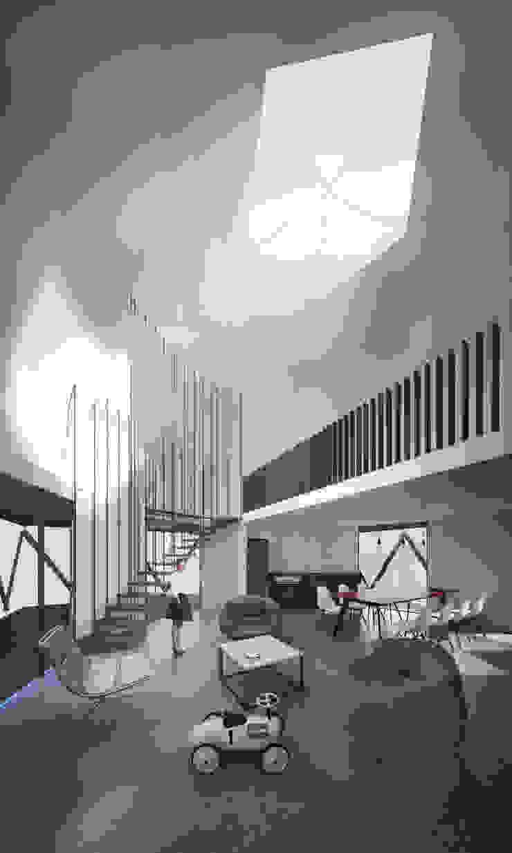 B+V Arquitectos Salon minimaliste