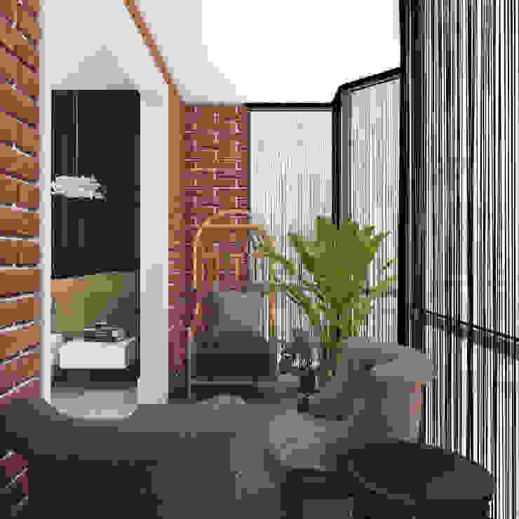Klasyczny balkon, taras i weranda od 3D GROUP Klasyczny