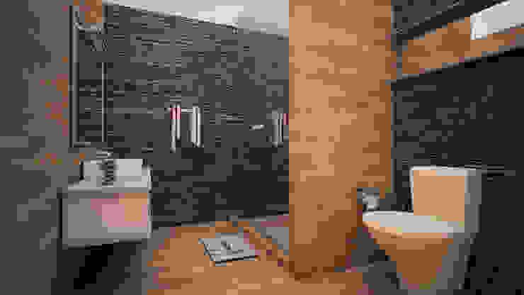 Baño moderno Baños minimalistas de GarDu Arquitectos Minimalista