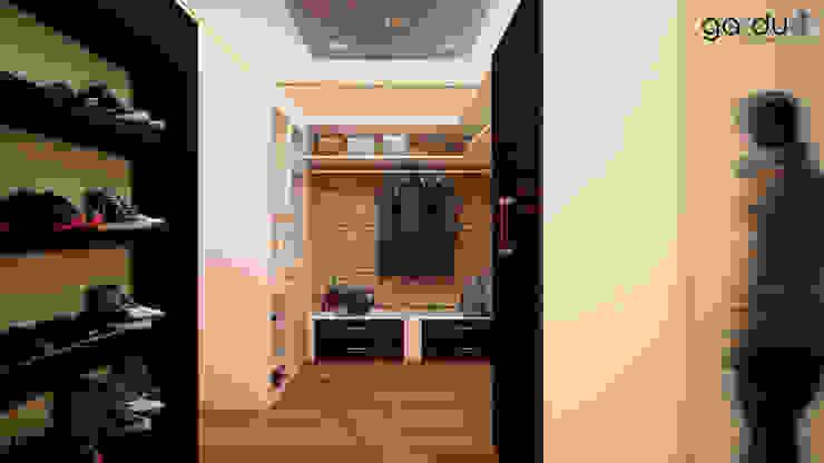 Closeth Moderno Vestidores minimalistas de GarDu Arquitectos Minimalista Madera Acabado en madera