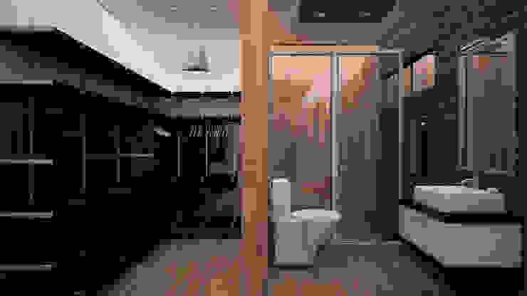Baños de estilo  de GarDu Arquitectos , Minimalista Madera Acabado en madera