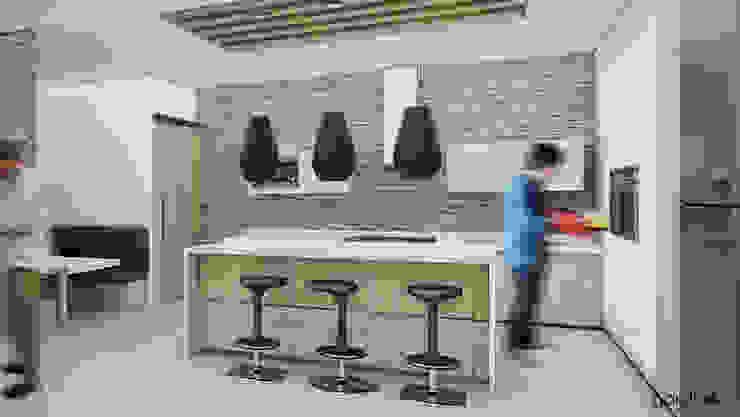 Cocina Moderna Cocinas minimalistas de GarDu Arquitectos Minimalista Piedra