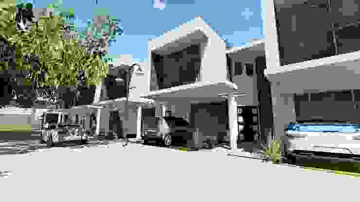 los ALAMOS TOWNHOUSE Casas de estilo minimalista de medina&asociados Minimalista