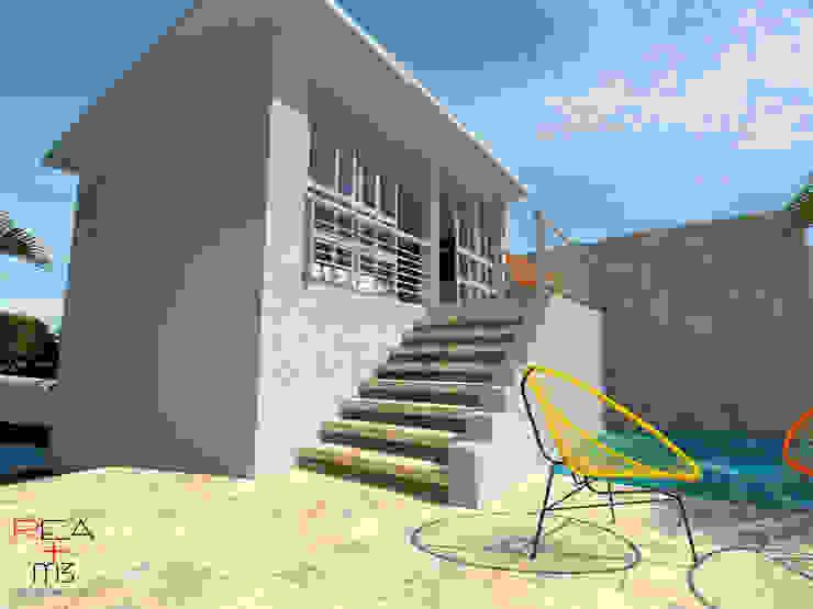 Casa en la playa Casas minimalistas de REA + m3 Taller de Arquitectura Minimalista