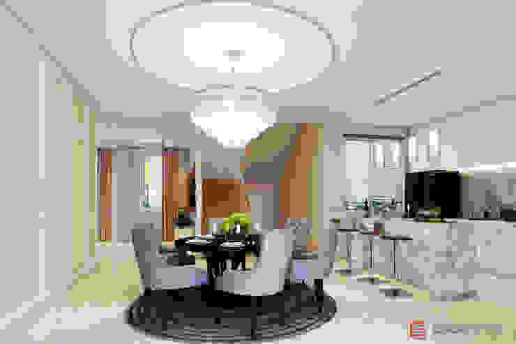ตกแต่งภายใน บ้านคุณ กิฟท์: คลาสสิก  โดย Glam interior- architect co.,ltd, คลาสสิค กระจกและแก้ว