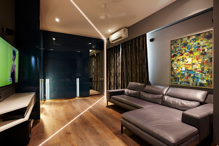 sons room Modern style bedroom by homify Modern Wood Wood effect
