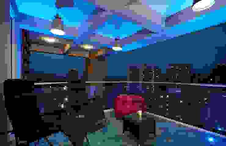 zen deck Modern balcony, veranda & terrace by homify Modern