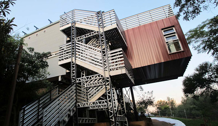 Houses by A4AC Architects,