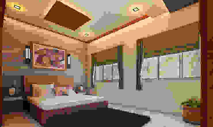Bedroom: modern  by Altitude Interior designer ,Modern