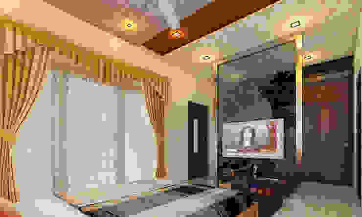 Bedroom tv unit: modern  by Altitude Interior designer ,Modern