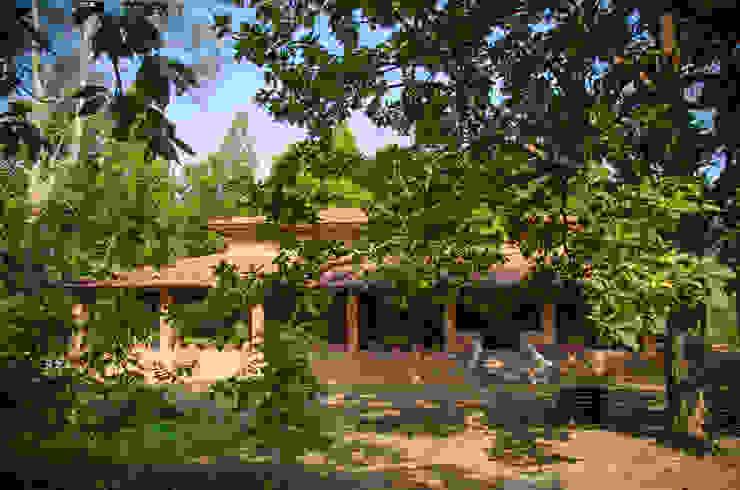 Homestay in Kanha National park, Madhya Pradesh Modern houses by M+P Architects Collaborative Modern