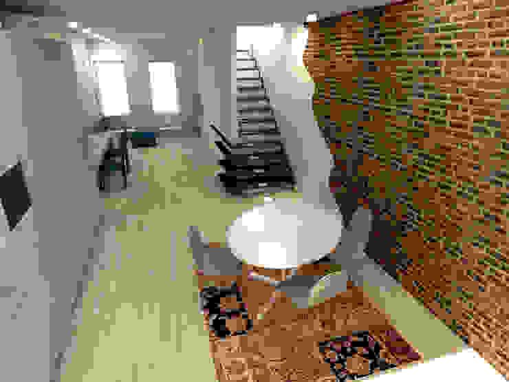 loft Eclectische woonkamers van Tektor interieur & architectuur Eclectisch