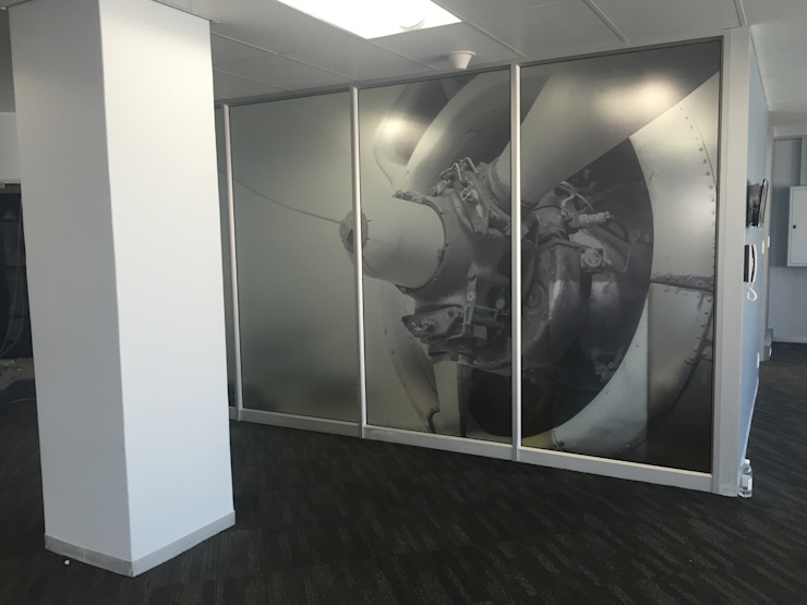 Frosted Vinyl Decals by Resurface Graphics Modern