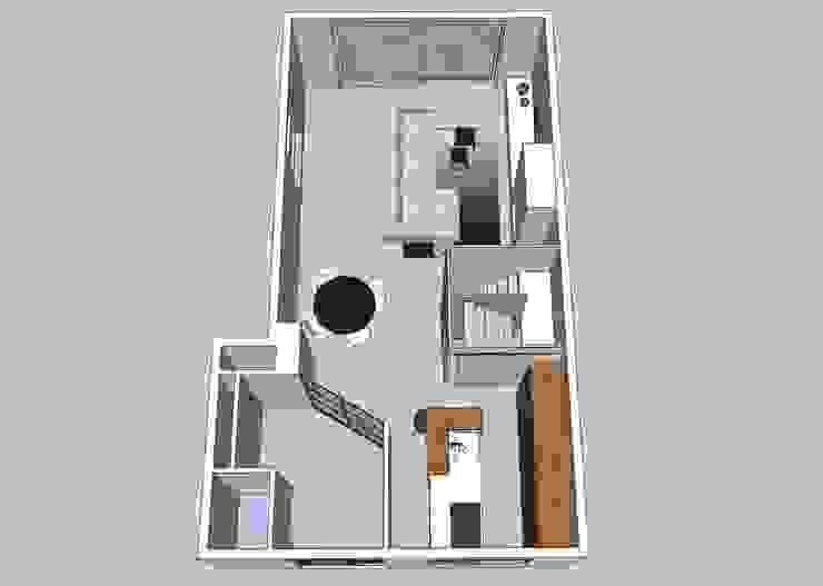 Het indelingsontwerp van JO&CO interieur
