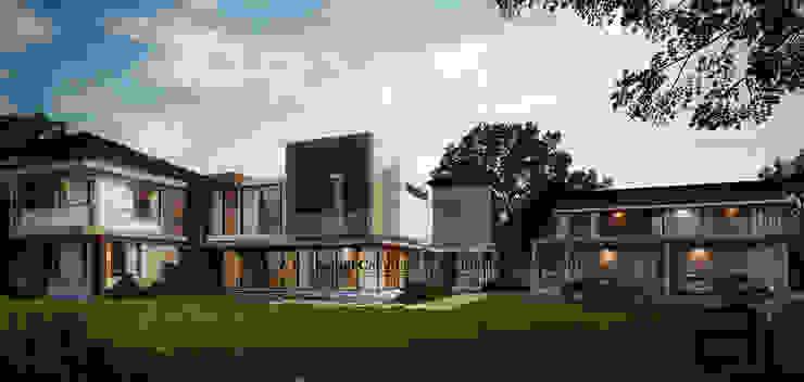 Modern Tropical house: ทันสมัย  โดย Glam interior- architect co.,ltd, โมเดิร์น กระจกและแก้ว