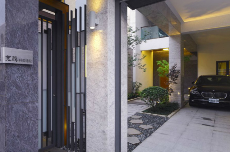 嘉義 科美建設別墅 現代房屋設計點子、靈感 & 圖片 根據 大也設計工程有限公司 Dal DesignGroup 現代風