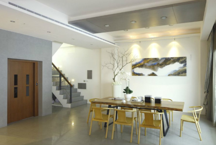 Ruang Makan Modern Oleh 大也設計工程有限公司 Dal DesignGroup Modern