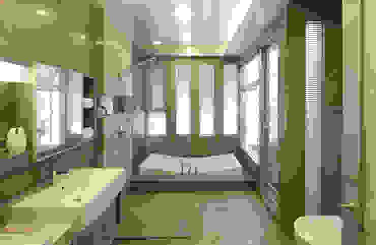 嘉義 科美建設別墅 現代浴室設計點子、靈感&圖片 根據 大也設計工程有限公司 Dal DesignGroup 現代風