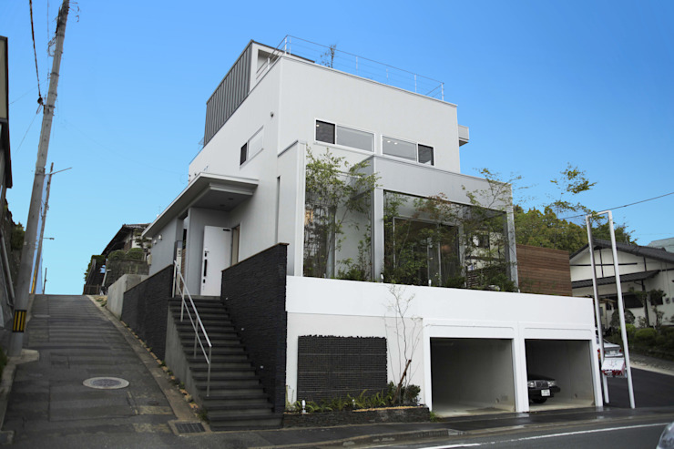 Casas modernas de 株式会社 SYN空間計画 一級建築事務所 Moderno