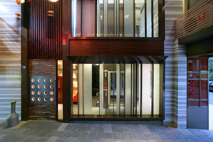 Hoteles de estilo moderno de 大也設計工程有限公司 Dal DesignGroup Moderno