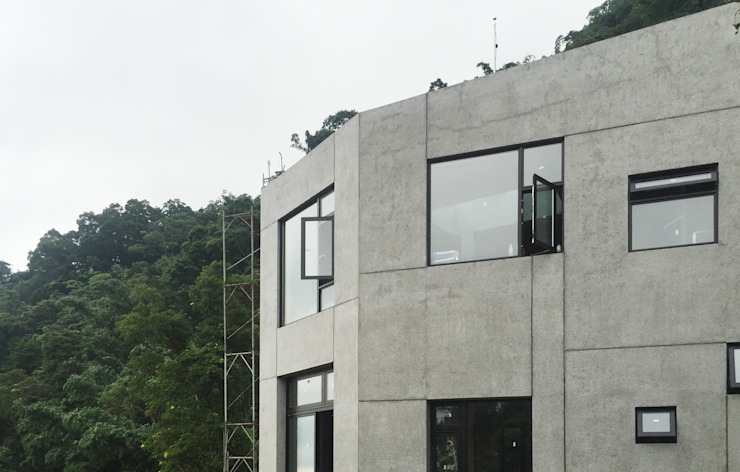 行一建築 _ Yuan Architects Rumah Modern