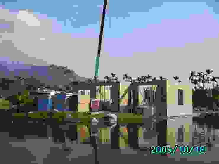 一樓牆體完成 根據 台灣環球住宅股份有限公司