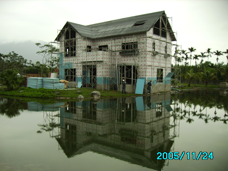 牆面防水層(白色) 根據 台灣環球住宅股份有限公司