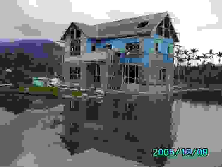 外牆面材施作 根據 台灣環球住宅股份有限公司