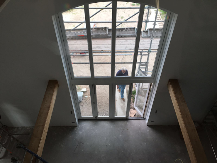 Vide woonkamer/keuken van LJW Architectuur