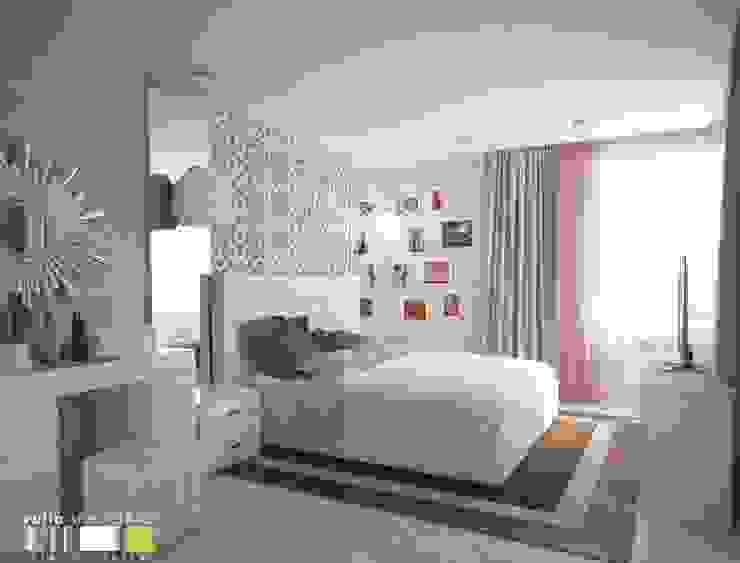 Minimalist bedroom by Мастерская интерьера Юлии Шевелевой Minimalist