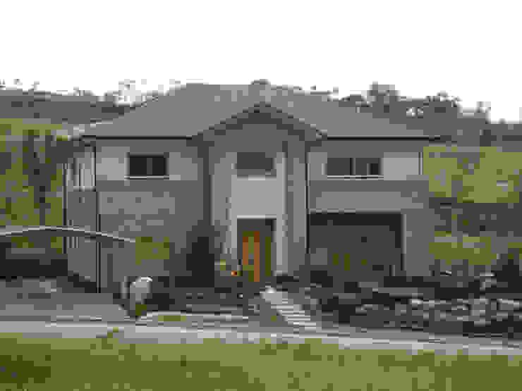 Casas de estilo  por 台日國際住宅股份有限公司, Asiático