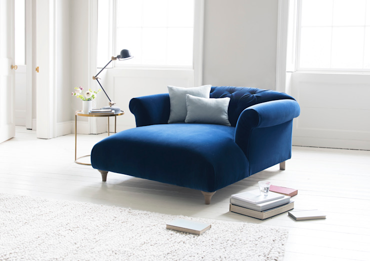 Dixie love seat chaise por Loaf Clássico