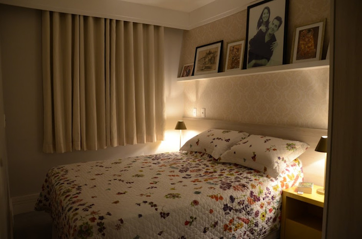 Eclectic style bedroom by Alvaro Camiña Arquitetura e Urbanismo Eclectic