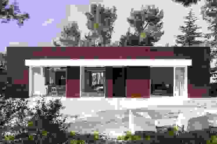 現代房屋設計點子、靈感 & 圖片 根據 m12 architettura design 現代風