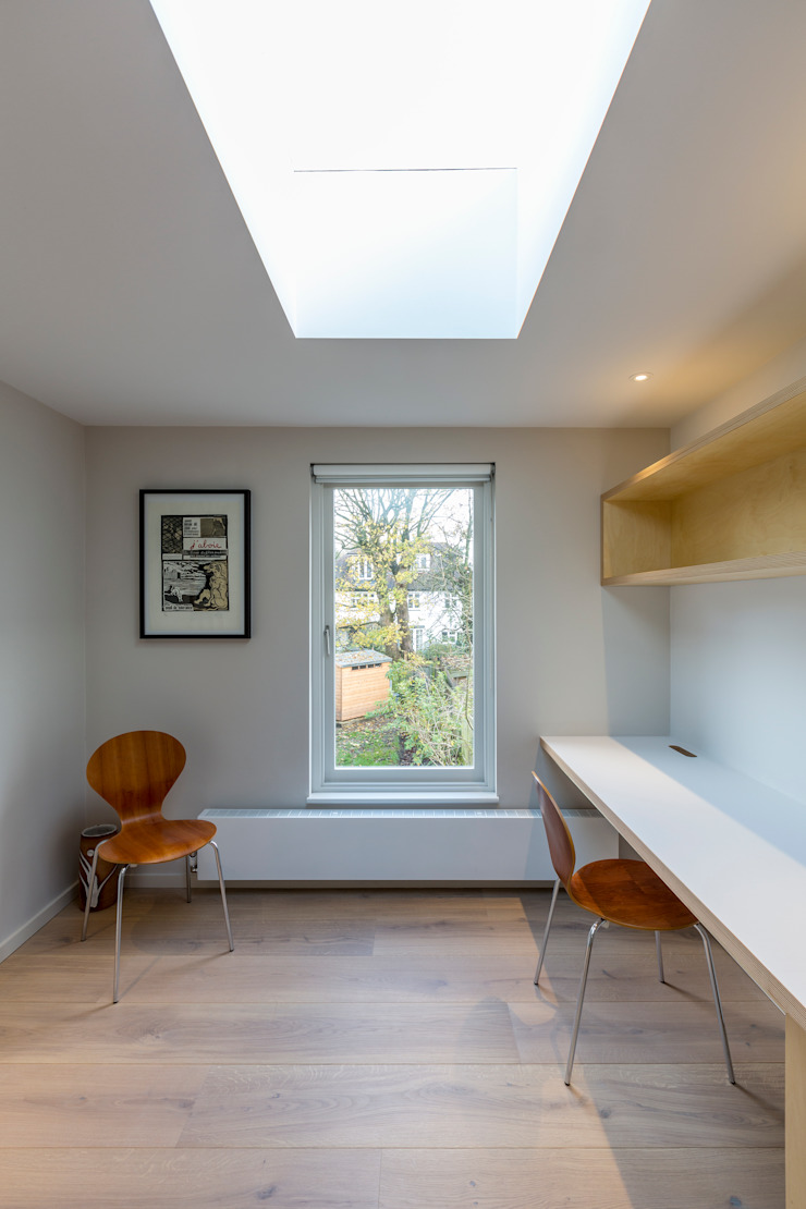 Office Modern Study Room and Home Office by Studio Mark Ruthven Modern