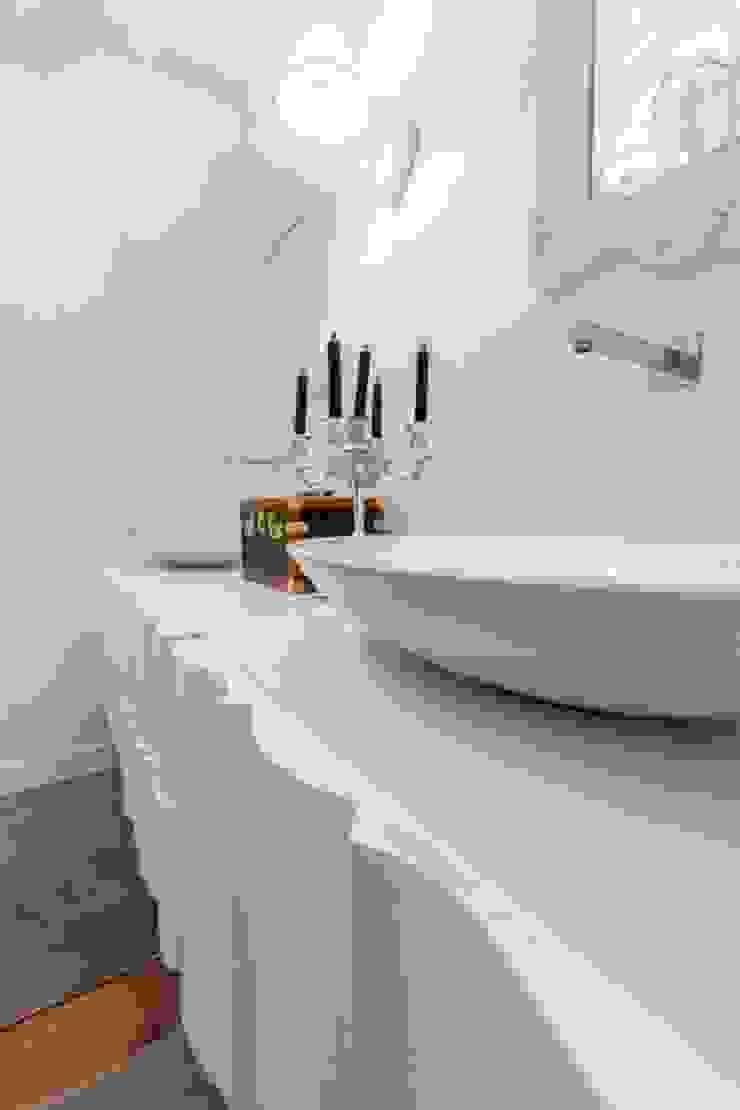 Salle de bain classique par casa&stile interior design e ristrutturazioni Classique Marbre