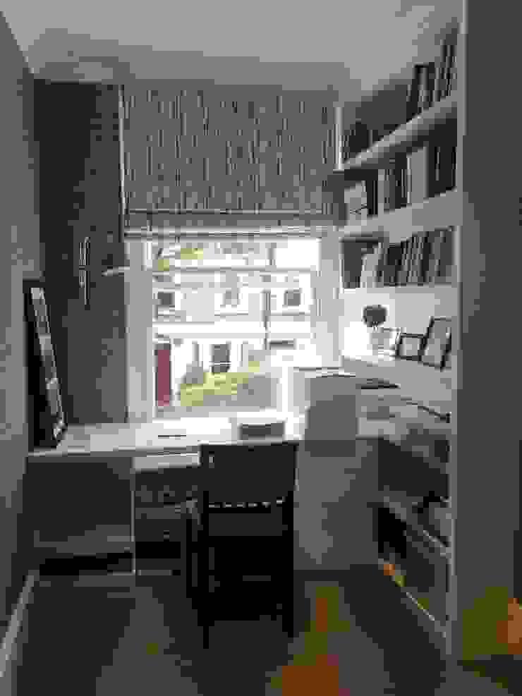 Home Office من fleur ward interior design حداثي