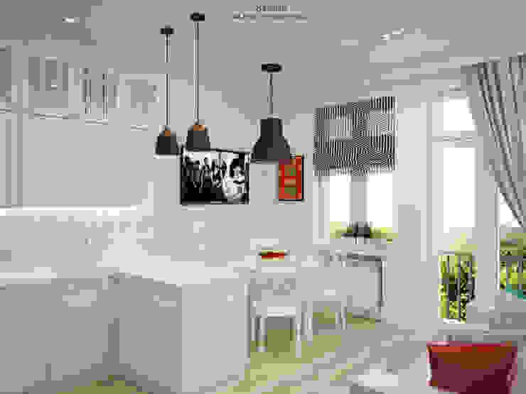 Salas / recibidores de estilo  por ALENA SERGIENKO