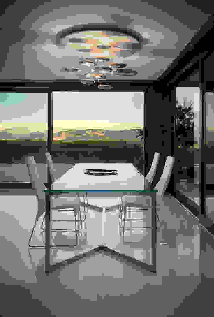 Elle Maison Sala da pranzo moderna di Damilano Studio Architects Moderno