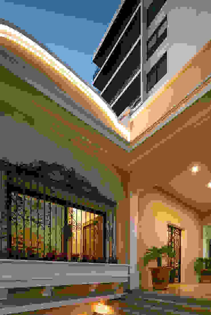 Trama Arquitectos Couloir, entrée, escaliers originaux