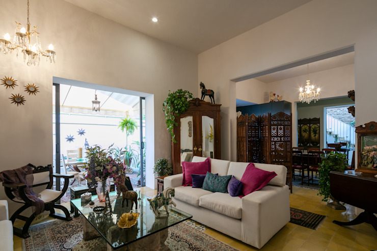 Trama Arquitectos Living room