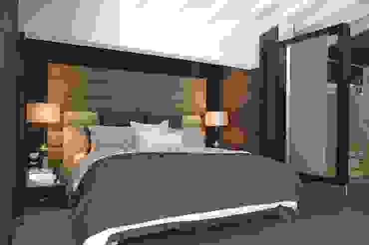 Casa 575. Habitacion principal. Arq Renny Molina Dormitorios de estilo moderno