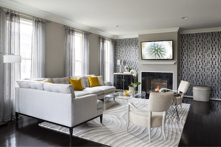Living room by Lorna Gross Interior Design, Modern
