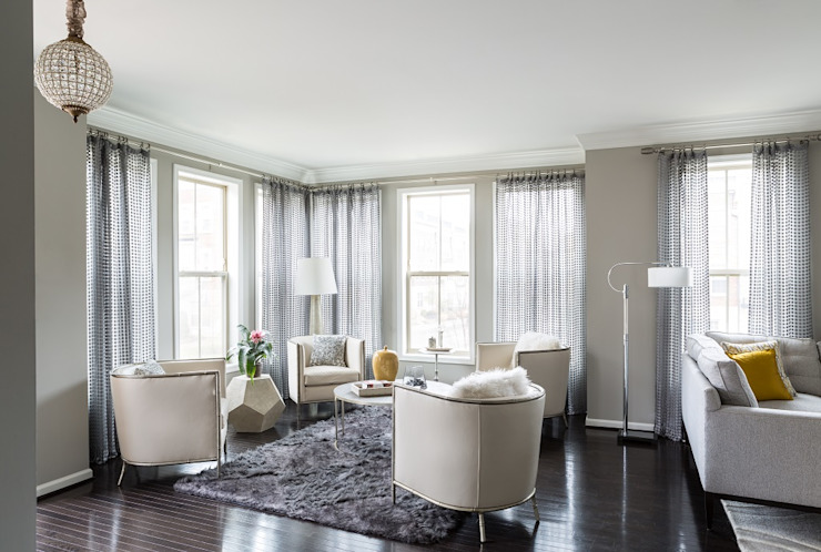 Viva Vogue - Sitting Modern Living Room by Lorna Gross Interior Design Modern