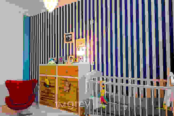 TiM Grey Interior Design Eclectic style nursery/kids room