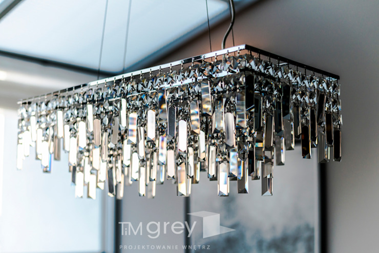 TiM Grey Interior Design Eclectic style dining room
